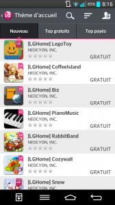 Lg G2 - thèmes