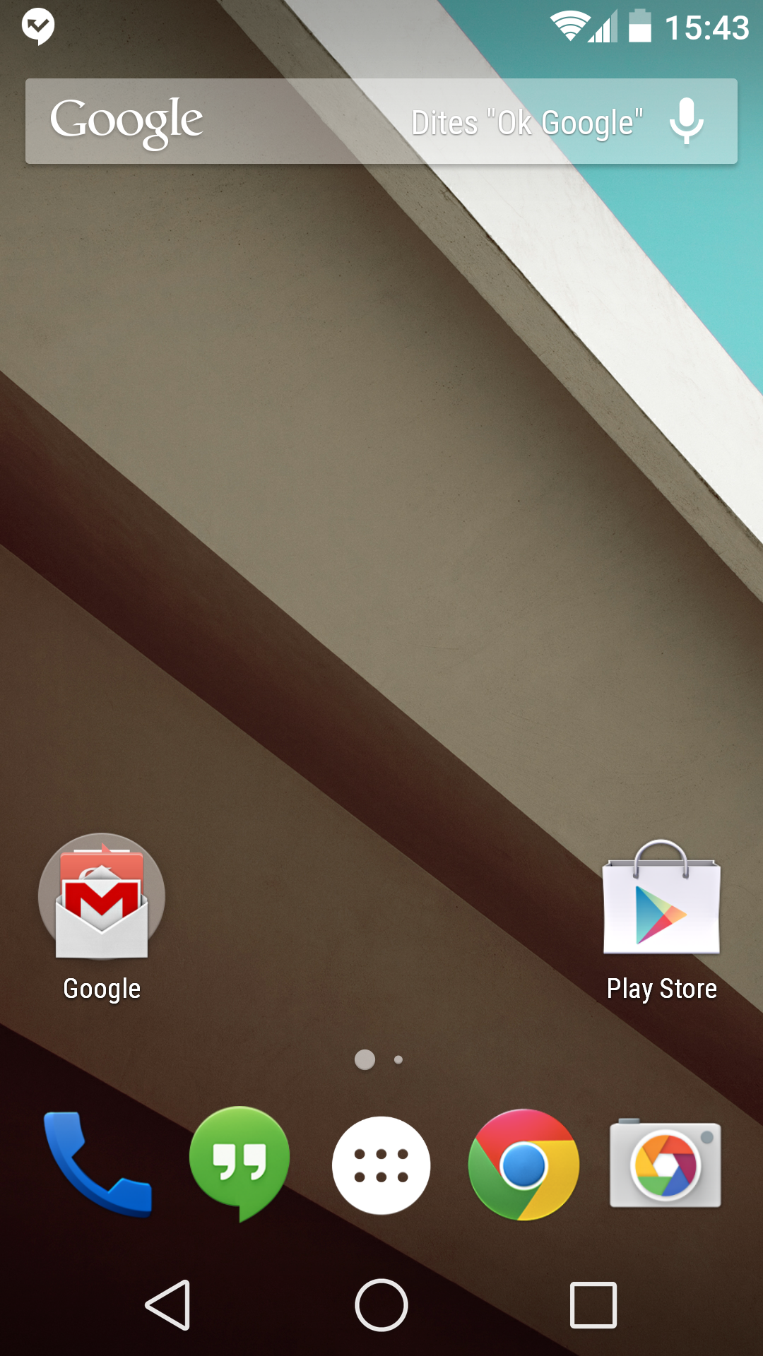 ANDROID L Accueil