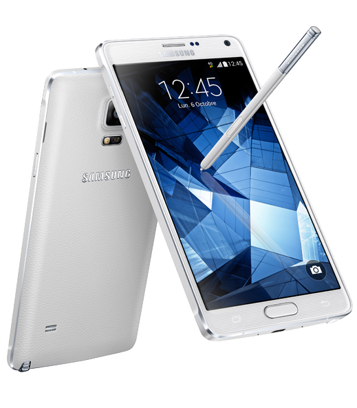 LE GALAXY NOTE 4 et son stylet