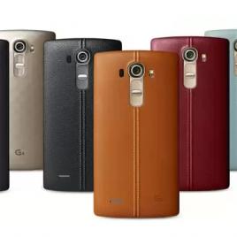 LG G4 : une famille haute en couleurs !